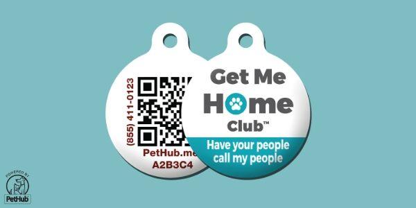 PetHub Call My Peeps ID Tag