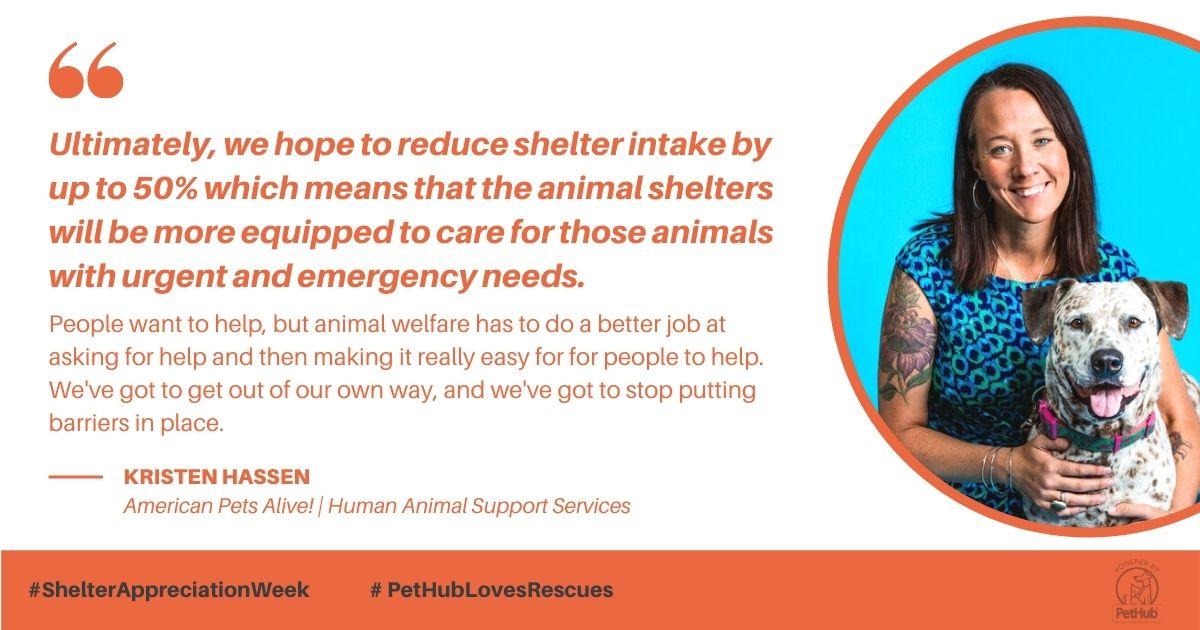 Kristen Hassen, Director of American Pets Alive