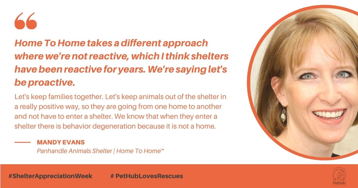 Mandy Evans, Executive Director of Panhandle Animal Shelter