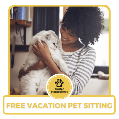 One year of vacation pet sitting from TrustedHousesitters