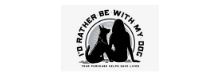 I'd Rather Be With My Dog Logo