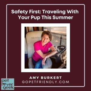 Pet Lover Geek with Go Pet Friendly